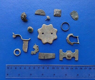 Many Ancient and Old Ornaments Fragments.