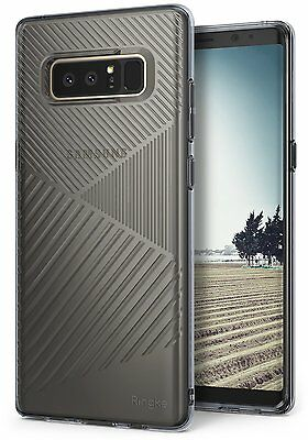 Samsung Galaxy Note 8 | Ringke [BEVEL] Shockproof Flexible Design TPU Case Cover