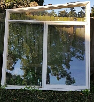 used wooden window
