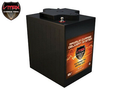 VMAX V6-225,6Volts 225AH Deep Cycle High Performance AGM Battery for SOLAR PANEL