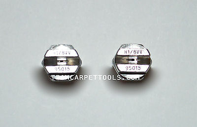 "Carpet Cleaning Replacement Stainless Steel 1/8"" V-Jets 95015 Vee Jets (2 count)"