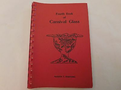Fourth Book Of Carnival Glass - Hartung - Ca 1975