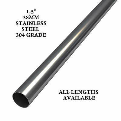 "1.5"" 38Mm Stainless Steel Exhaust Repair Replacement Heavy Duty 304 Grade New"