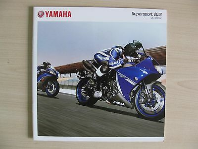 Yamaha Supersport R1/R6/R125 UK Sales Brochure (2013), Inc YZF-R1 & YZF-R6