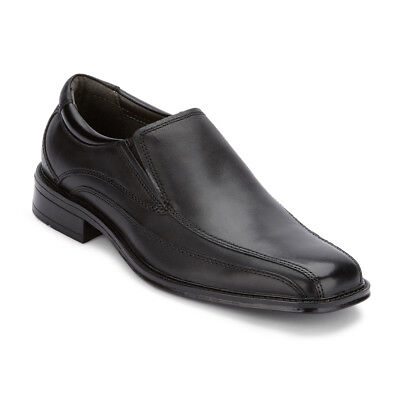 Dockers Men's Brookline Genuine Leather Rubber Sole Slip-on Oxford Shoe Black