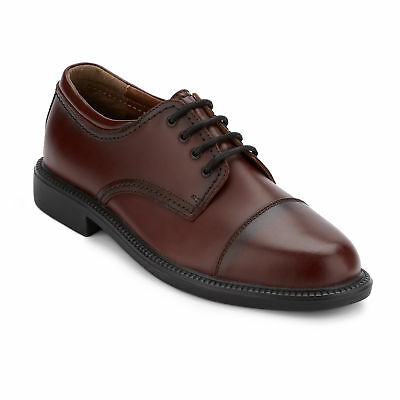 Dockers Men's Gordon Genuine Leather Lace-up Rubber Sole Oxford Shoe Cordovan