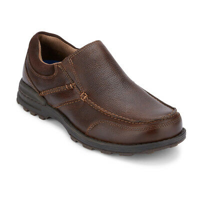 Dockers Men's Keenland Genuine Leather Slip-on Casual Loafer Shoe Whiskey