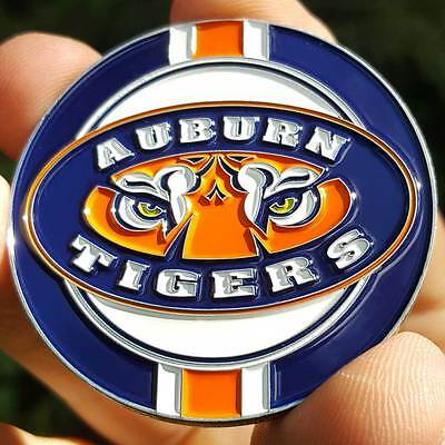 PREMIUM NCAA Auburn Tigers Poker Card Protector Collector Coin Golf Marker