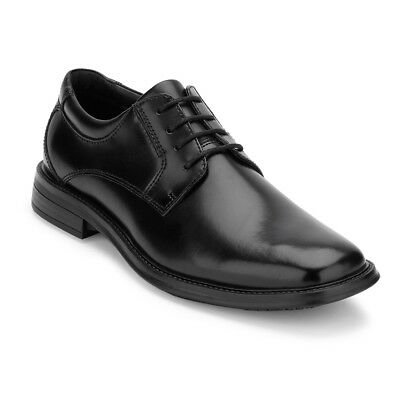 Dockers Mens Sansome Leather Slip Resistant Work Dress Lace-up Oxford Shoe