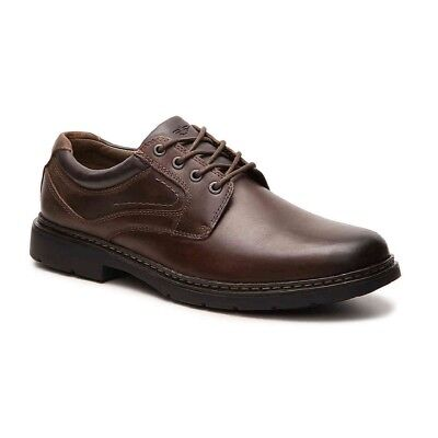Dockers Mens Kenworth Genuine Leather Casual Lace-up Oxford Shoe with NeverWet