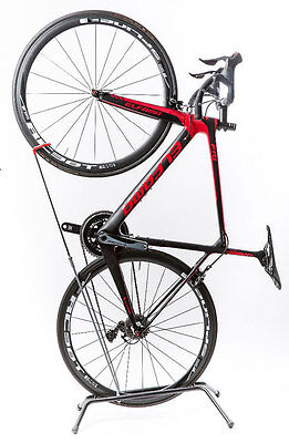 Vertical Freestanding Bicycle Rack, Space saving, No Drilling Upright Bike Stand