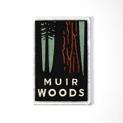 Official Muir Woods National Monument Souvenir Patch California Park