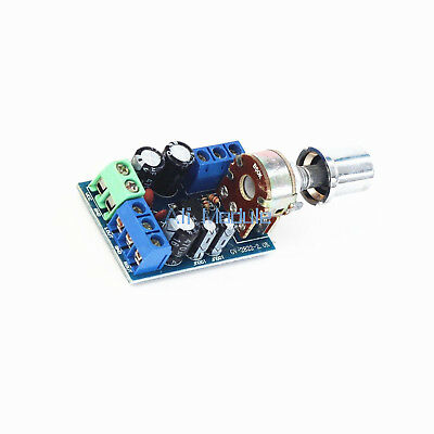 TDA2822M Mini 2.0 Channel 1W×2 Stereo Audio Power Amplifier Board DC 5V 12V UK