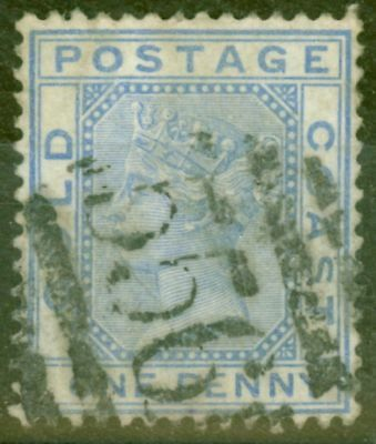 Gold Coast 1883 1d Blue SG10 Good Used