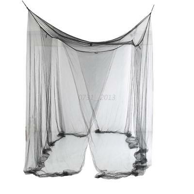 4 /Four Corner Post Bed Canopy Mosquito Net Ceiling Full Queen King Size Netting