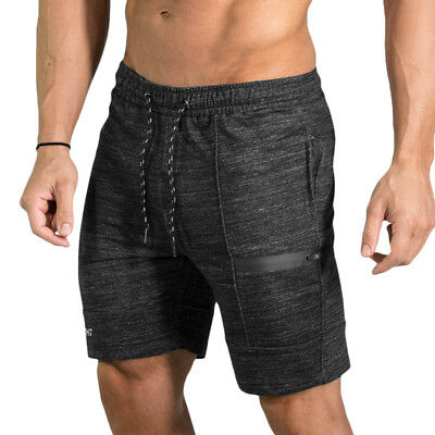 Mens Shorts Running Gym Sports SHORT PANTS Bodybuilding Workout Joggers Shorts