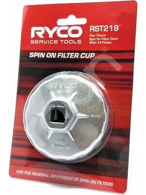 Ryco Spin On Filter Cup (RST219)