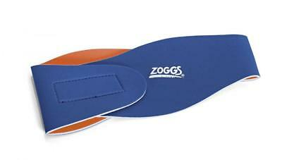Junior Ear Band For Swimming - Reversible Blue & Orange From ZOGGS