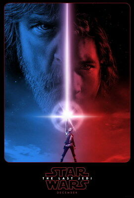 "040 Star Wars The Last Jedi - Daisy Ridley Action USA 2017 Movie 24""x35"" Poster"