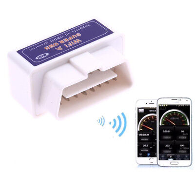 Super WiFi OBD2 Car Diagnostics Scanner Scan Tool for iPhone iOS Android PC