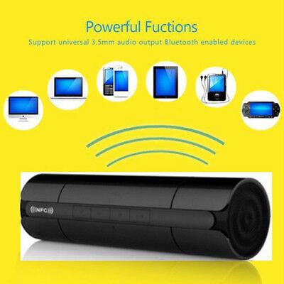 Wireless Bluetooth Speaker Super Bass AUX LCD/USB/TF/FM Radio Rechargeable