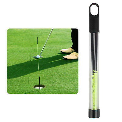 Andux Golf Training Aid Golf Putting String With Pegs Golf Putting Guide Line