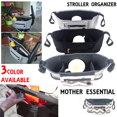 Universal Baby Trolley Stroller Cup Carriage Pram Buggy Organizer Storage Bag