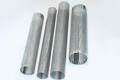 """3"""" 76Mm X 10"""" Long Exhaust Repair Tube Stainless Steel Perforated Pipe"""