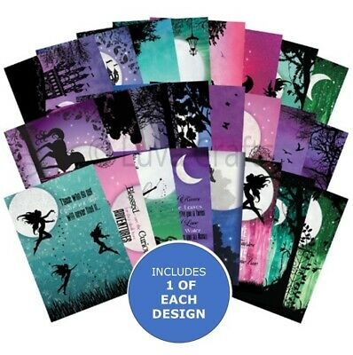 Hunkydory The Little Book of Twilight Kingdom -Sample Pack 24 sheets x A6 150gsm