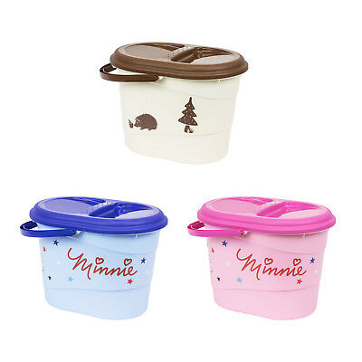 Plastic nappy disposal bin baby carrying 13L 3 cute colours