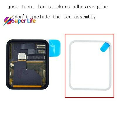 Apple Watch Front LCD Sticker Waterproof Adhesive Tape Glue 38MM Adheres Screen