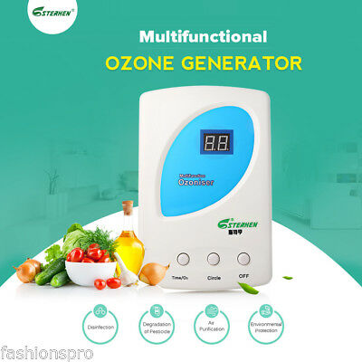 STERHEN Ozone Generator O3 Sterilizer for Water Air Purification Fruit Cleaning
