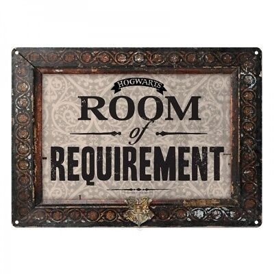 Harry Potter : ROOM OF REQUIREMENT Metal Wall Sign from Half Moon Bay