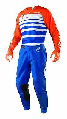 2018 Troy Lee Designs TLD SE Combo Streamline Blue/Orange