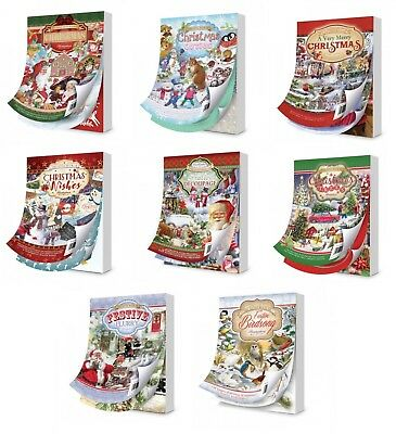 Hunkydory The Little Book Paper Pad 144 A6 pages 150 gsm - Christmas Collection