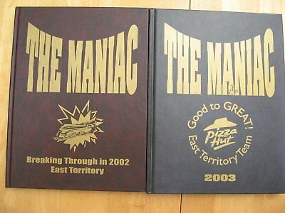 Pizza Hut Yearbooks, The Maniac East Territory 2002 & 2003
