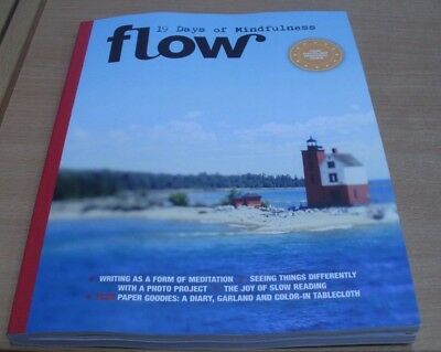 Flow Mindfulness magazine 2017 Writing, Slow Reading, Paper Goodies & more
