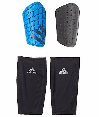 Adidas Shin Guard Ghost Football Legs Protection AP7050 Soccer Shin Pads Blue