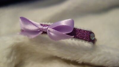 Sparkly Custom designed hand decorated Cat Kitten Puppy Collar - Sweet Dolly