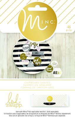 American Crafts Minc Chipboard Shapes 4