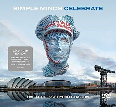 Simple Minds - Celebrate  Live From The SSE Hydro Glasgow (Bonus DVD)