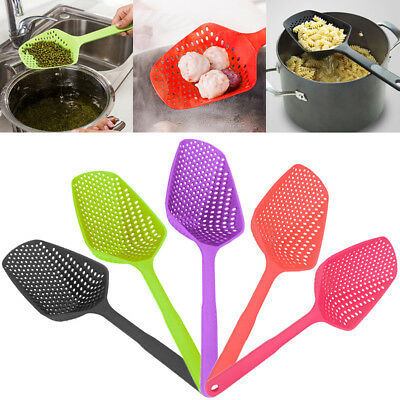 Large Scoop Colander Sifter Pasta Heat Resistant Strainer Creative Kitchen Tool