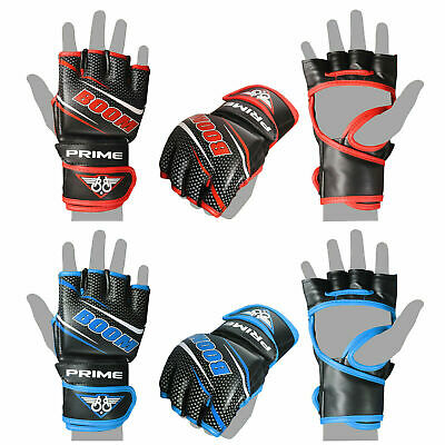 MMA Grappling Gloves Martial Arts UFC Cage Fight Boxing Punch Training Bag Mitts