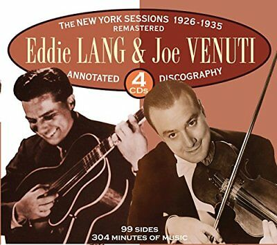Eddie Lang - The New York Sessions 1926-1935 [CD]
