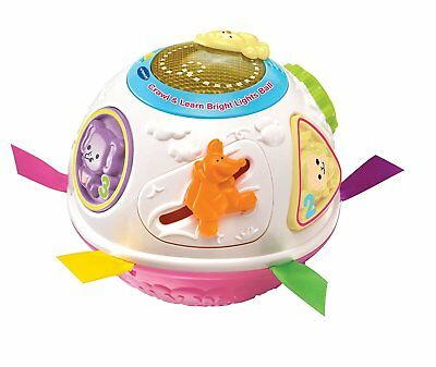 Vtech Crawl And Learn Bright Lights Ball Baby Learn Talk Toy Musical Sounds New