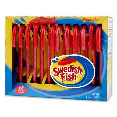 Swedish Fish Candy Canes 12-12 count boxes
