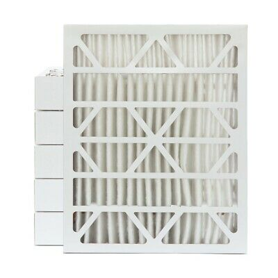 "20x24x4 MERV 11 Pleated AC Furnace Air Filters.   6 Pack (Actual Depth: 3-3/4"")"