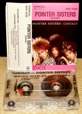 POINTER SISTERS          -  CONTACT -                             Cassette Tape
