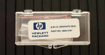 HP Agilent Graphite Seal 6.35- mm O- ring inlet/detector liners  0905- 0767