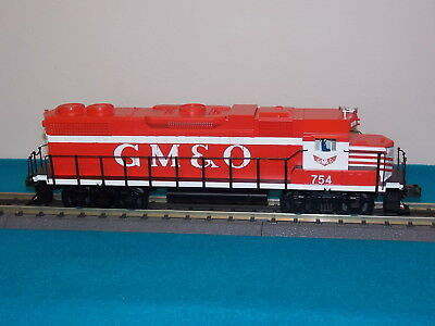 MTH EMD GP38-2 Item# 20-2158-1 Diesel GM&O No 754 Train Locomotive New Mint